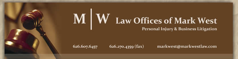 Law Offices of Mark West Personal Injury & Business Litigation